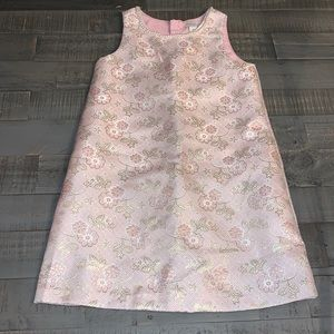 Rachel Zoe Shift Pink Dress with faux Pearl Accent